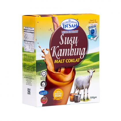 In'san Susu Kambing Coklat (500g)